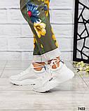 Стильные кроссовки женские итальянская кожа, фото 5