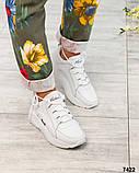 Стильные кроссовки женские итальянская кожа, фото 2