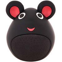 """Детская Bluetooth (блютуз) колонка """"Мышка"""" черная MB-M919"""