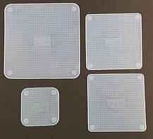 Силиконовые крышки Stretch and Fresh (набор 4 крышки), фото 2