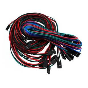 14 кабелей 2/3/4pin мама-мама 70см для 3D-принтера