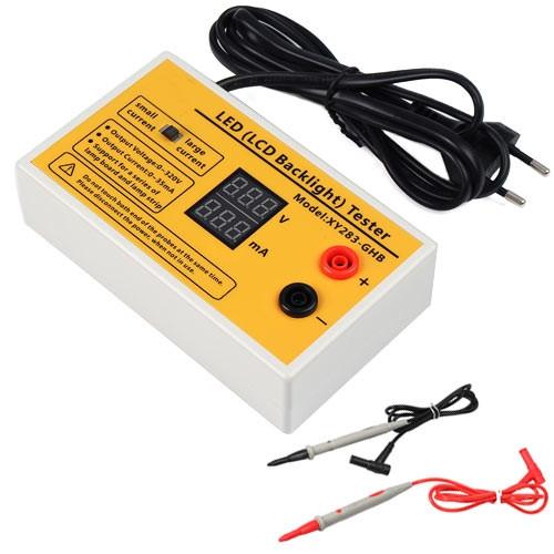 Тестер светодиодов LED ламп подсветки ЖК ТВ, автоматический, 0-320В