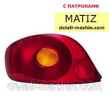"""Ліхтар лівий Матіз задній """"Tempest"""" Matiz"""
