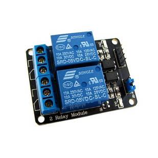 2-канальный модуль реле 5В для Arduino PIC ARM AVR