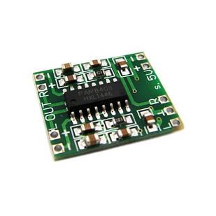 Аудио усилитель мощности звука 2x3Вт D-класс PAM8403A