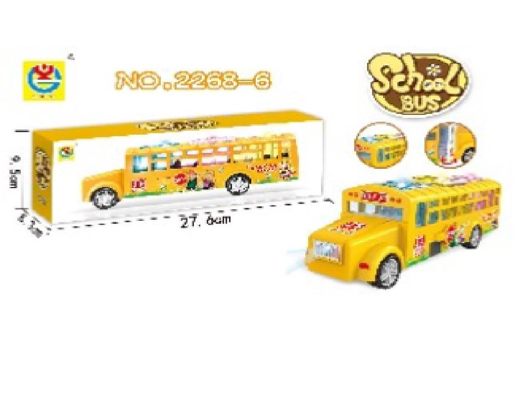 Музыкальный автобус, звук, трансформер, 2268-6