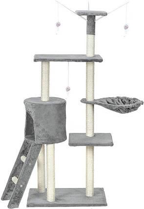 Когтеточка, домики, дряпка для кошек FunFit Amy 1808, фото 2