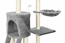 Когтеточка, домики, дряпка для кошек FunFit Amy 1808, фото 3