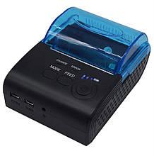 Мобільний чековий принтер 58мм Mini ZJ-5805DD (AW-5805) AsianWell безпровідний, bluetooth, Android, Windows