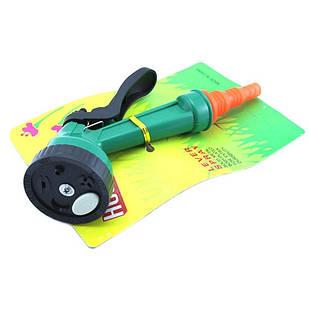 Пістолет насадка розпилювач для поливу на садовий шланг