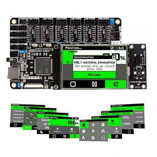 """Плата управления Lerdge K + 6x TMC2208, 32бит ЖК 3.5"""" для 3D-принтера"""