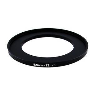 Повышающее степ кольцо 52-72мм для Canon, Nikon