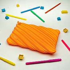 Пенал ZIPIT NEON JUMBO, колір CRAZY ORANGE (помаранчевий), фото 3