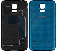 Задняя крышка батареи для Samsung Galaxy S5 G900, синий, оригинал