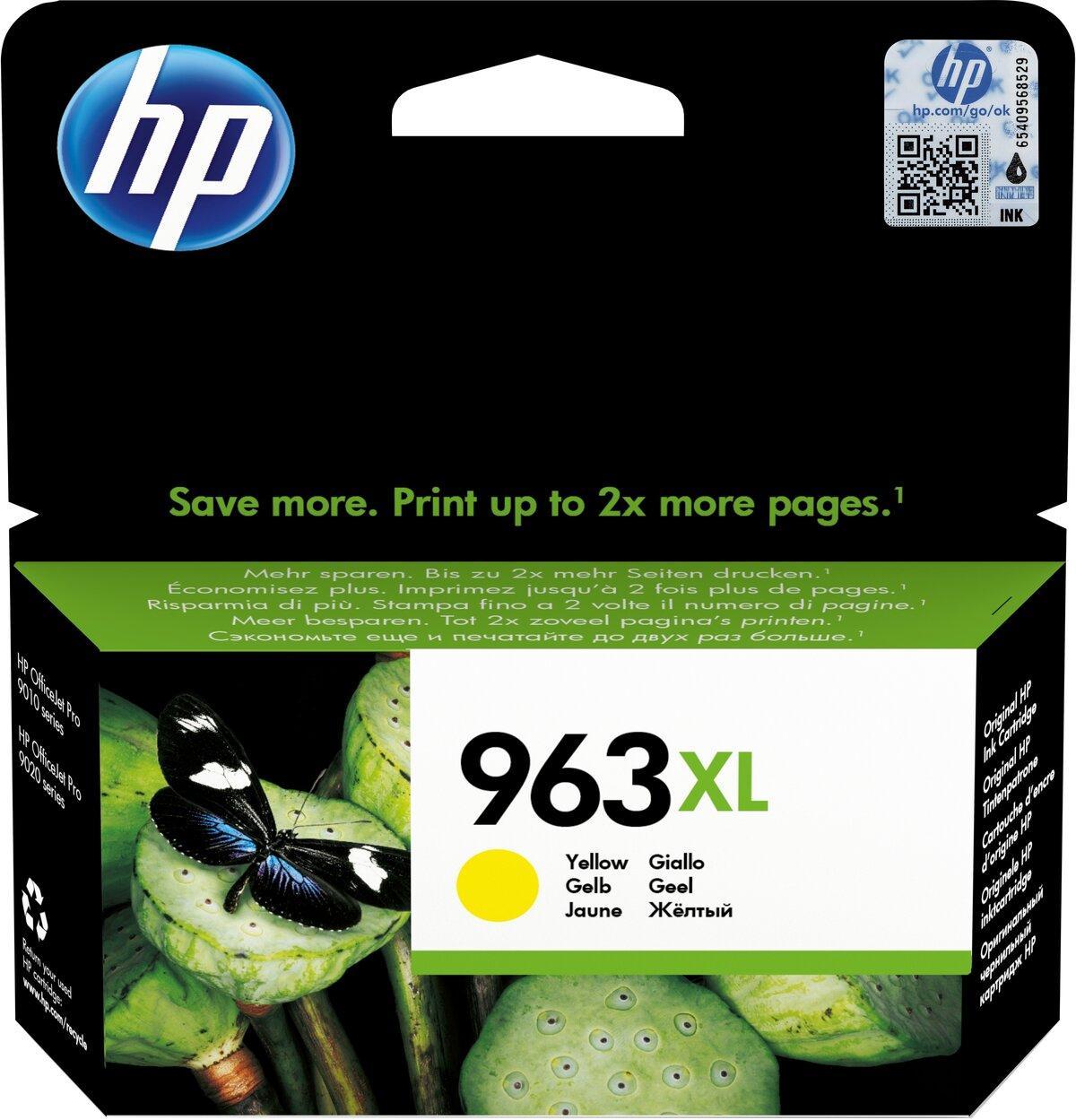 Картридж HP 963XL OJ Pro 9010/9013/9020/9023 Yellow 1600 страниц