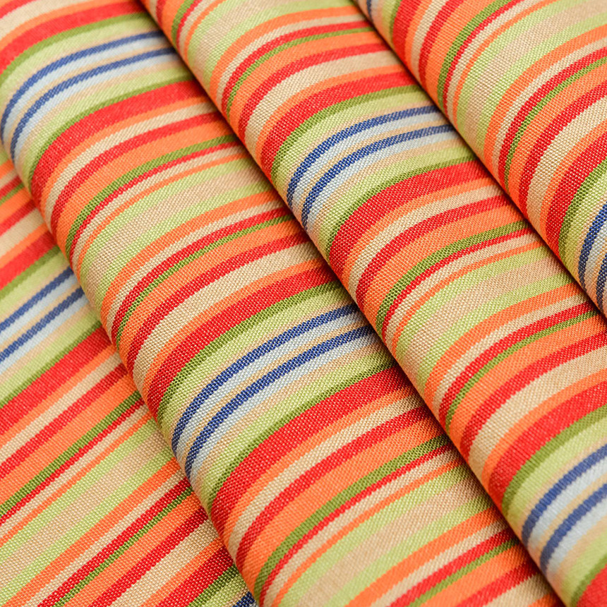 Ткань с водоотталкивающей пропиткой в тонкую полоску Дралон Javier