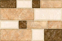 Плитка облицювальна 23х35 Grani св.-коричнева 74 031