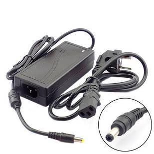 Блок питания, сетевой адаптер 12В 6А, 5.5x2.1мм 5.5x2.5мм, кабель