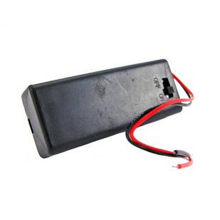 Бокс на 2 ААА батареи, 3V кейс, питание Arduino