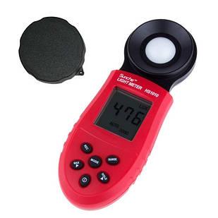 Цифровой люксметр измеритель освещенности фотометр HS1010