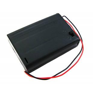 Бокс на 3 АА батареи, 4.5V кейс, питание Arduino