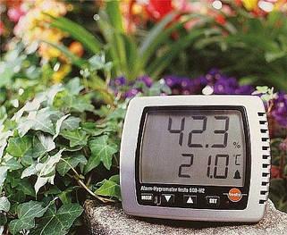 Термогигрометры (влажность, температура)