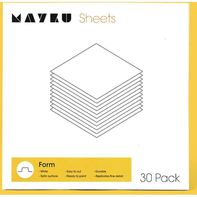 Mayku Form Sheets - пластини для термоформування 30 шт