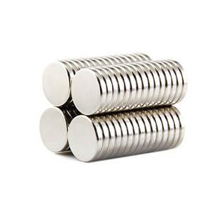 Магниты неодимовые сильные 12x2мм N35 10шт