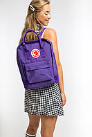 Модный Рюкзак для подростков Fjallraven Kanken Classic (Фиолетовый)