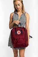 Модный Рюкзак для подростков Fjallraven Kanken Classic (Красный)