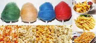 Вкусовые добавки для сахарной ваты, попкорна и картофеля фри