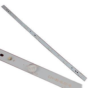 LED планка лампа подсветки ЖК телевизора 32, 615мм 7LED CJY-32-DLED-B