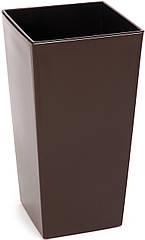 Кашпо LAMELA Финезия 47х25 см Коричневый 000003295, КОД: 358598