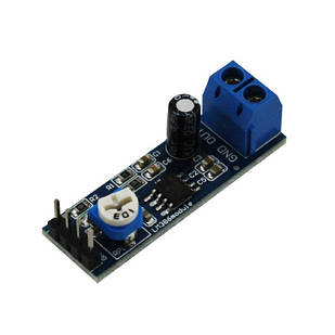 Модуль Аудио усилитель LM386 0.3-1Вт 5-12В Arduino
