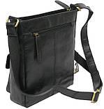 Мужская кожаная сумка Always Wild C48.0525 черная, фото 7