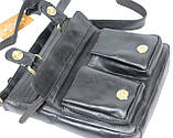 Мужская кожаная сумка Always Wild C48.0525 черная, фото 9
