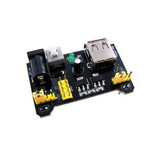 Модуль живлення макетних плат MB102 3.3/5В, Arduino
