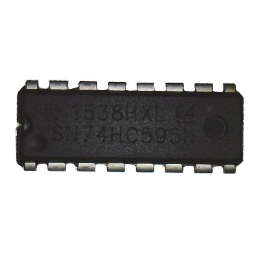 Чип SN74HC595N 74HC595N DIP16, Cдвиговый регистр 8-битный