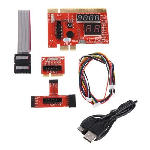 POST карта KQCPET6 V6 PCI PCI-E mini PCI-E LPC EC анализ диагностика ПК