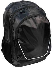 Рюкзак молодіжний PASO 21L 15-367R чорний