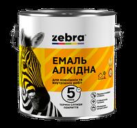 Емаль алкідна 2,8кг ПФ-116 ЗЕБРА 18 Темно-сірий