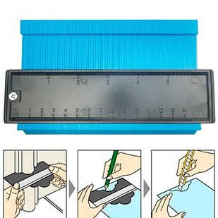 Шаблон для вимірювання обрисів 14см Контур для укладання ламінату