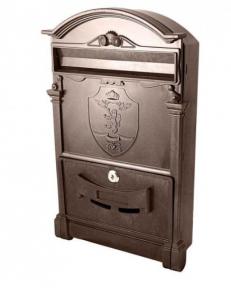 Скринька поштова кольорова Герб лев