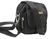Компактная сумка через плече Wallaby 3161 черная, фото 3