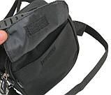 Компактная сумка через плече Wallaby 3161 черная, фото 6