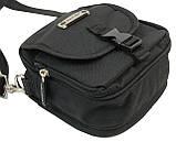 Компактная сумка через плече Wallaby 3161 черная, фото 7