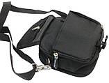 Компактная сумка через плече Wallaby 3161 черная, фото 8