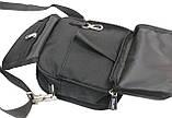 Компактная сумка через плече Wallaby 3161 черная, фото 9