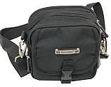 Компактная сумка через плече Wallaby 3161 черная, фото 10