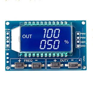 Генератор ШИМ сигнала сигналов ЖК 1Гц-150КГц 3.3-30В XY-LPWM